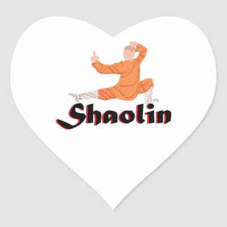 Kung Fu Shaolin Colcomanias Corazon Personalizadas