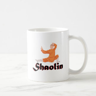 Kung Fu Shaolin Taza De Café