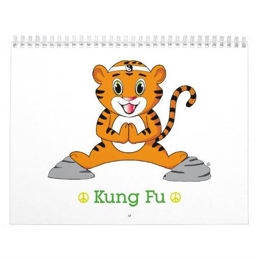 Kung Fu Tiger™ Calendar