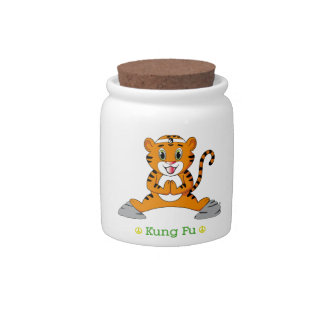 Kung Fu Tiger™ Candy Jar