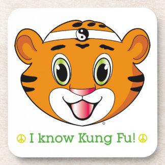 Kung Fu Tiger™ Coaster Set