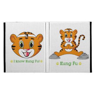 Kung Fu Tiger™ iPad Folio Caseable iPad Case