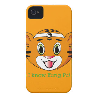 Kung Fu Tiger™ iPhone 4/4S Case-Mate Barely There iPhone 4 Case