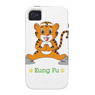 Kung Fu Tiger™ iPhone 4 Case-Mate Tough Case-Mate iPhone 4 Cases