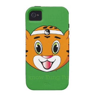 Kung Fu Tiger™ iPhone 4 Case-Mate Tough iPhone 4 Cover