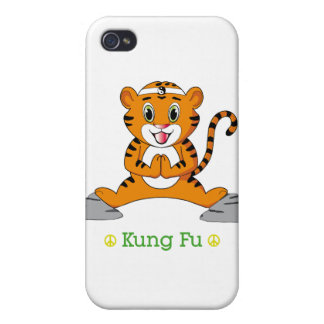 Kung Fu Tiger™ iPhone 4 Case