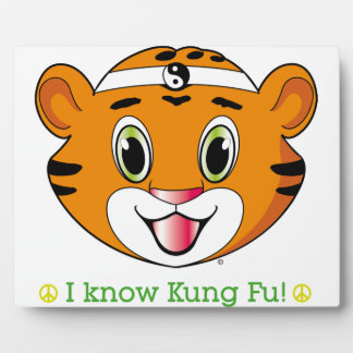 Kung Fu Tiger™ Photo Plaques