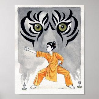 Kung Fu Tiger Poster