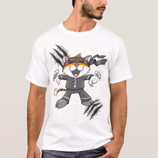 Kung Fu Tiger Style Warrior Ninja  T-Shirt