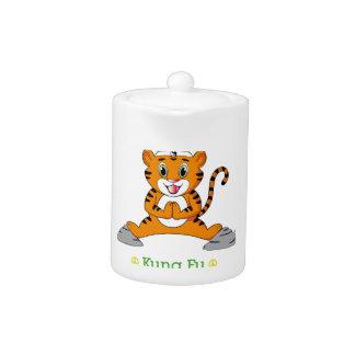 Kung Fu Tiger™ Tea Pot