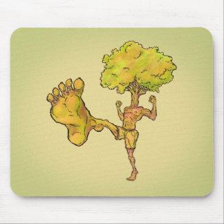 Kung Fu Tree Mouse Pad