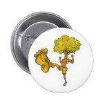 Kung Fu Tree Pinback Button