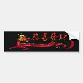 Kung Hei Fat Choi Bumper Sticker