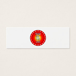 Kung Hei  Fat Choi Mini Business Card