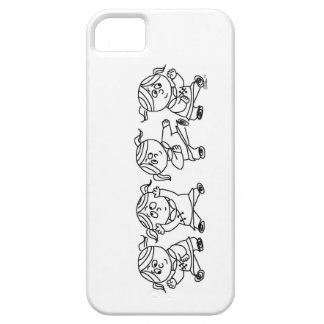 Kung Pao Girl Power iPhone 5 Cases
