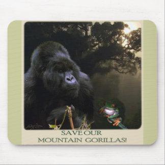 Kunga Mountain Gorilla Collection Mouse Mats