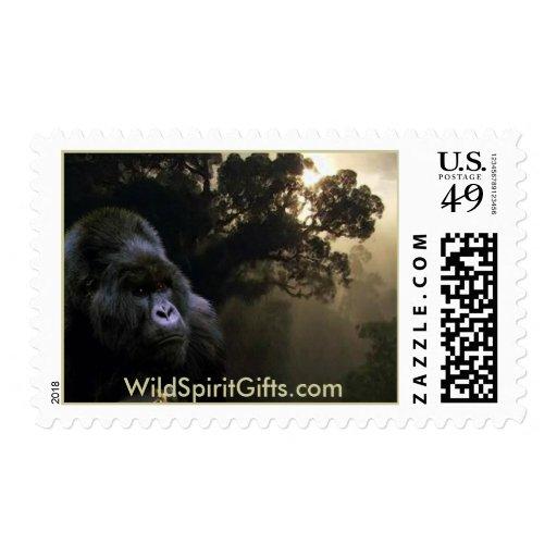 Kunga Mountain Gorilla Collection Postage Stamp
