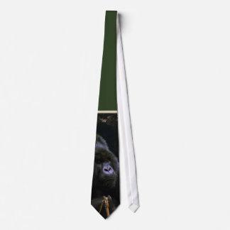Kunga Mountain Gorilla Primate Art Tie