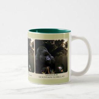 Kunga Mountain Gorilla Wildlife-supporter Mug