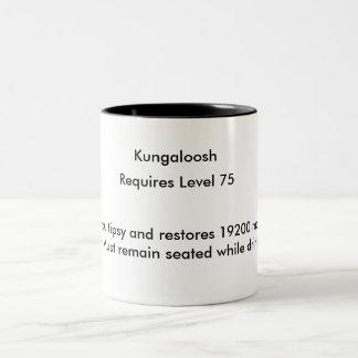 Kungaloosh Two-Tone Coffee Mug