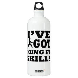 Kungfu Martial Arts designs Aluminum Water Bottle