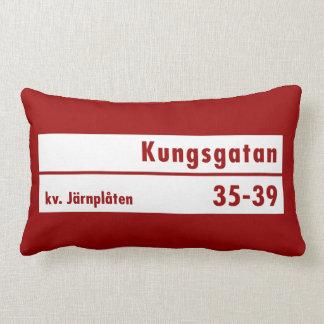 Kungsgatan Estocolmo placa de calle sueca