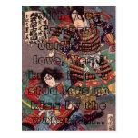 Kunichika-100-web-, usted parece tan hermoso con postal