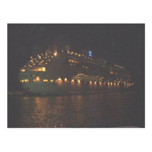 Kunisch Family on Legend o t Seas 193 Postcard