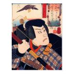 Kuniyoshi el actor postal