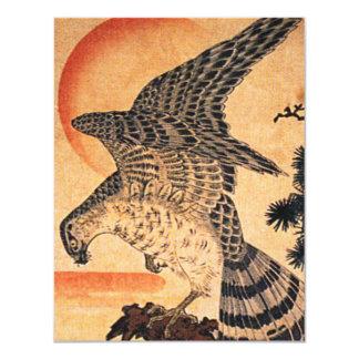 Kuniyoshi Hawk Invitations