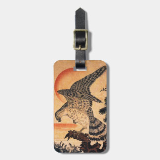Kuniyoshi Hawk Luggage Tag