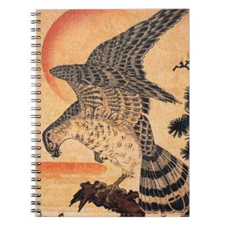 Kuniyoshi Hawk Notebook