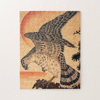 Kuniyoshi Hawk Puzzle