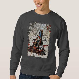 Kuniyoshi ronin puzzle Oishi Tikara Yoshikane Pull Over Sweatshirt