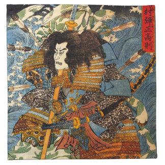 Kuniyoshi Samurai Napkins
