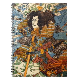 Kuniyoshi Samurai Notebook