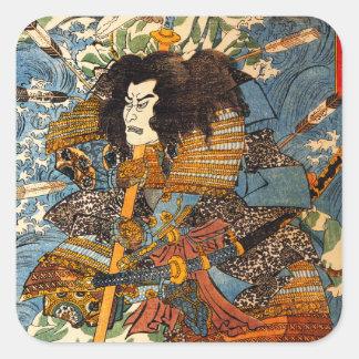 Kuniyoshi Samurai Stickers