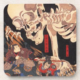 Kuniyoshi Skeleton Coasters
