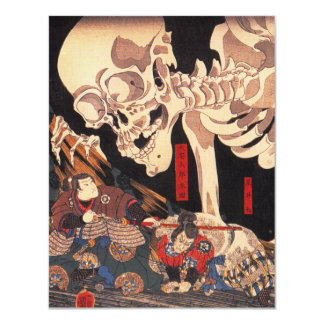 Kuniyoshi Skeleton Invitations