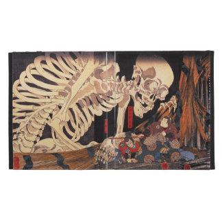 Kuniyoshi Skeleton iPad Case