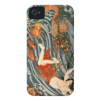 Kuniyoshi -Tamatori iPhone 4 Cover