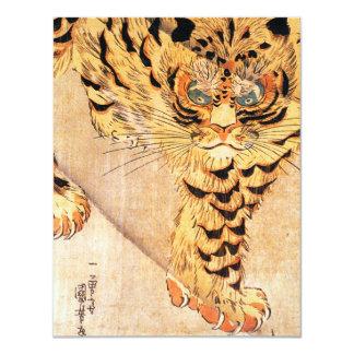 Kuniyoshi Tiger Invitations