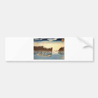 Kuniyoshi - UKIYOE- Bumper Sticker