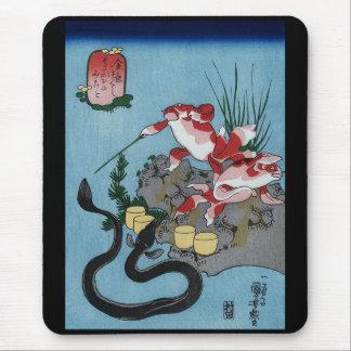 Kuniyoshi UTAGAWA and the so the ax you see Mouse Pad