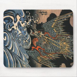 Kuniyoshi Utagawa, Dragon 2 Mouse Pad