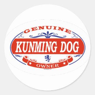 Kunming Dog  Classic Round Sticker