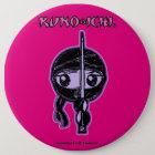 KUNOICHI Pinkish Button