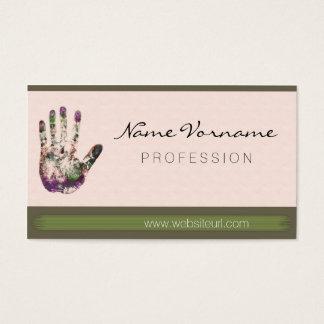 kunst malen business card