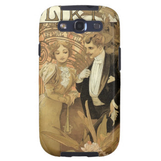 Kunst Nouveau Flirt Galaxy SIII Covers