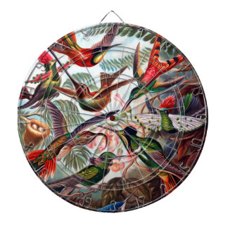 Kunstformen Der Natur Hummingbird Interpreted Dart Board